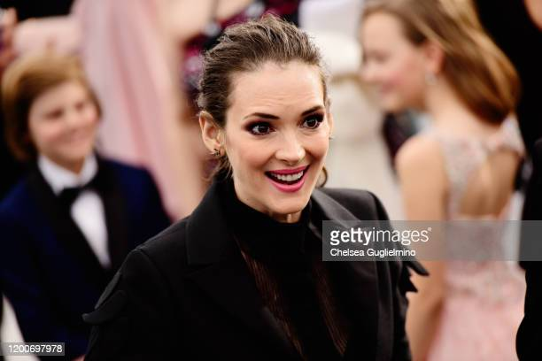 Actress Winona Ryder attends the 26th annual Screen Actors Guild Awards at The Shrine Auditorium on January 19 2020 in Los Angeles California