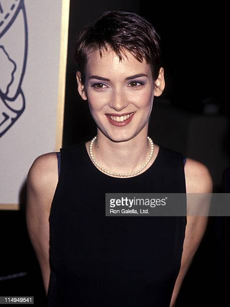 Actress Winona Ryder attends the 51st Annual Golden Globe Awards on January 22, 1994 at Beverly Hilton Hotel in Beverly Hills, California.