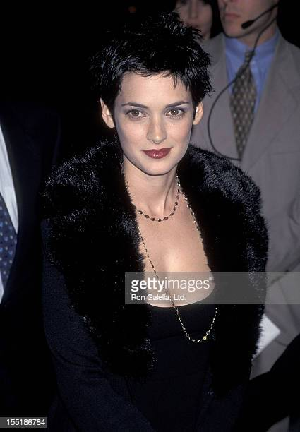 """Actress Winona Ryder attends """"The Crucible"""" Beverly Hills Premiere on November 20, 1996 at the Academy of Motion Picture Arts & Sciences in Beverly..."""