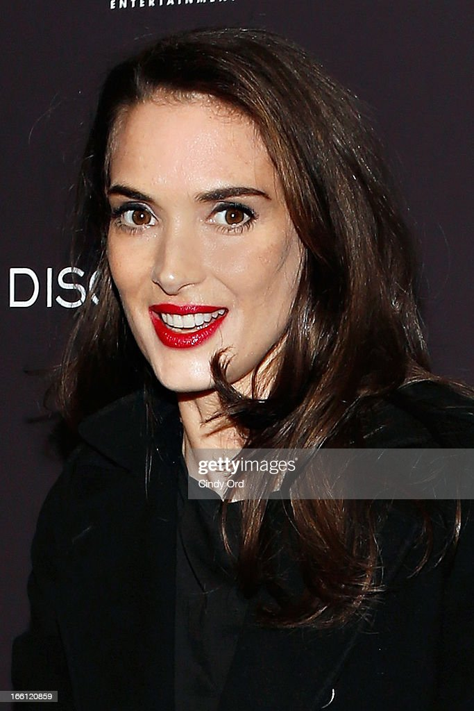 Actress Winona Ryder attends the 'Disconnect' New York Special Screening at SVA Theater on April 8, 2013 in New York City.