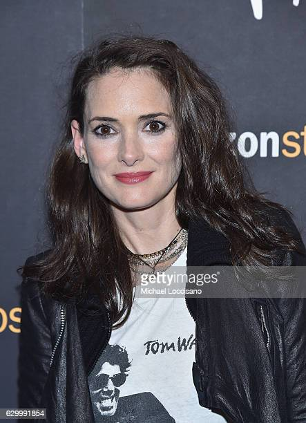 Actress Winona Ryder attends the New York screening of 'Paterson' at Landmark Sunshine Cinema on December 15 2016 in New York City