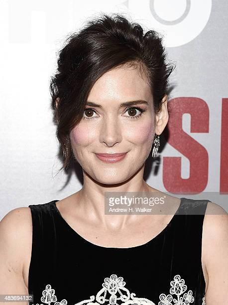 Actress Winona Ryder attends the 'Show Me A Hero' New York screening at The New York Times Center on August 11 2015 in New York City
