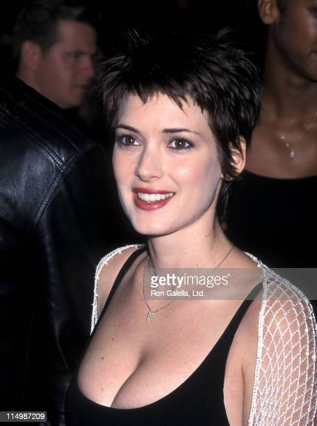 Actress Winona Ryder attends 'The Talend Mr Ripley' Westwood Premiere on December 12 1999 at Mann Village Theatre in Westwood California
