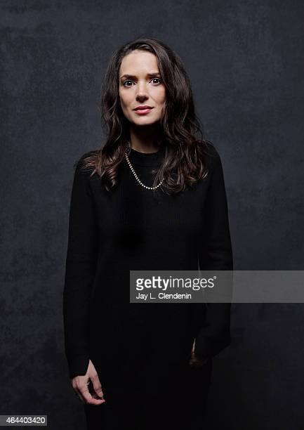 Actress Winona Ryder is photographed for Los Angeles Times at the 2015 Sundance Film Festival on January 24, 2015 in Park City, Utah. PUBLISHED...