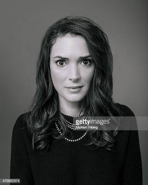 Actress Winona Ryder is photographed for Variety on February 3 2015 in Park City Utah