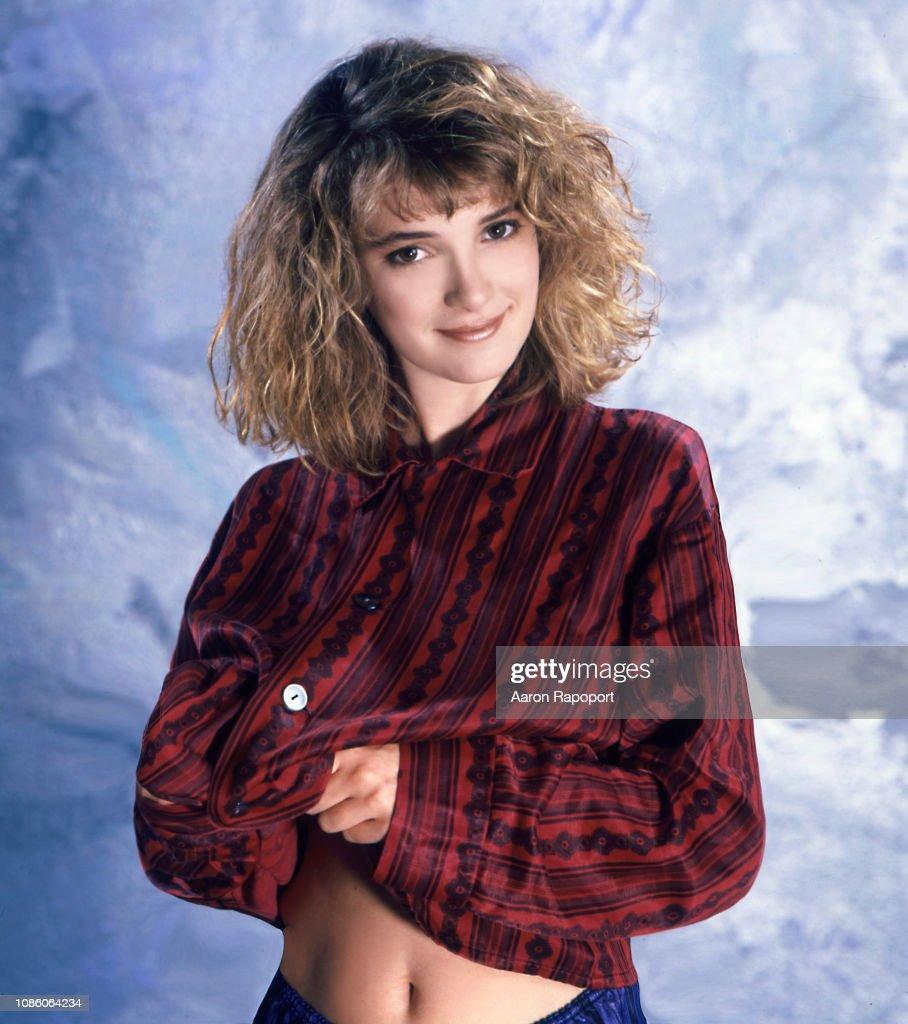 Winona Ryder Portrait Session 1986 : News Photo