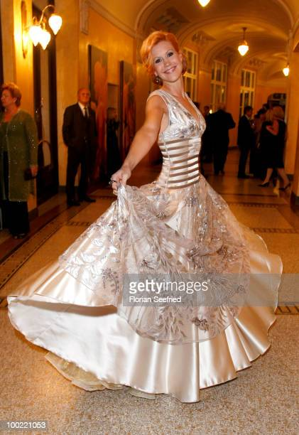 Actress Wolke Hegenbarth attends the 'Bayerischer Fernsehpreis 2010' at the Prinzregententheater on May 21 2010 in Munich Germany