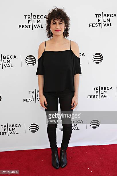 Actress/ writer Ilana Glazer attends Tribeca Tune In Time Traveling Bong during 2016 Tribeca Film Festival at SVA Theater 1 on April 16 2016 in New...