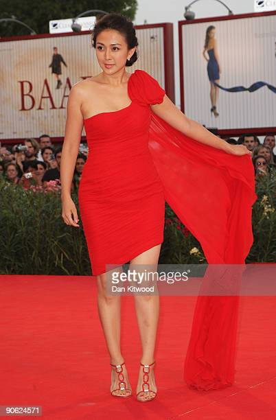 Actress Wu Anya attends the Closing Ceremony at the Sala Grande during the 66th Venice Film Festival on September 12 2009 in Venice Italy