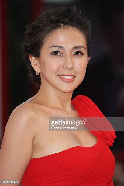 Actress Wu Anya attends the Closing Ceremony Red Carpet And Inside at The Sala Grande during the 66th Venice Film Festival on September 12 2009 in...