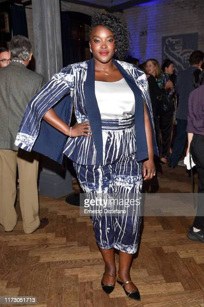 """Actress Wunmi Mosaku attends the RBC Hosted """"Sweetness in the Belly"""" Cocktail Party at RBC House Toronto Film Festival 2019 on September 07, 2019 in..."""