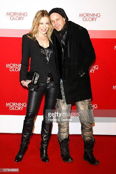 Actress Xenia Seeberg and Sven KilthauLander attend the Premiere of 'Morning Glory' at CineStar on January 9 2011 in Berlin Germany