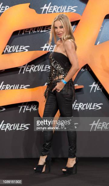 """Actress Xenia Seeberg arrives to the European Premiere of the movie """"Hercules"""" at Cinestar in Berlin, Germany, 21 August 2014. The movie comes to..."""