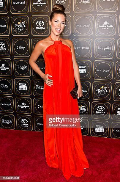 Actress Ximena Duque attends People En Espanol 2014 Los 50 Mas Bellos at Capitale on May 12 2014 in New York City