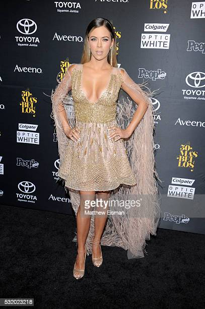 Actress Ximena Duque attends People En Espanol's '50 Most Beautiful' at Espace on May 17 2016 in New York City