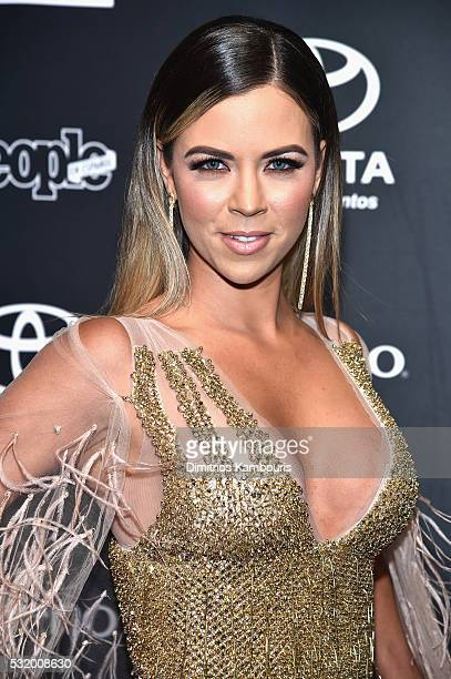 Actress Ximena Duque attends People En Espanol's '50 Most Beautiful' on May 17 2016 in New York City