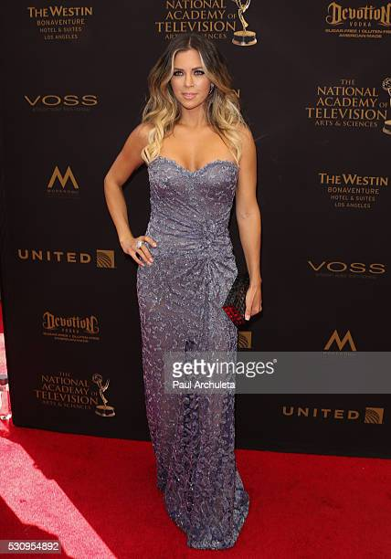 Actress Ximena Duque attends the 2016 Daytime Emmy Awards at The Westin Bonaventure Hotel on May 1 2016 in Los Angeles California