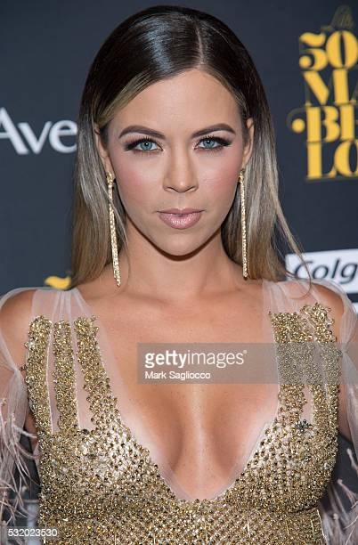Actress Ximena Duque attends the People En Espanol '50 Most Beautiful' at Espace on May 17 2016 in New York City