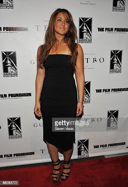 Actress Ximena Lacono attends the premiere of TETRO at the Directors Guild Theatre on June 7 2009 in New York City