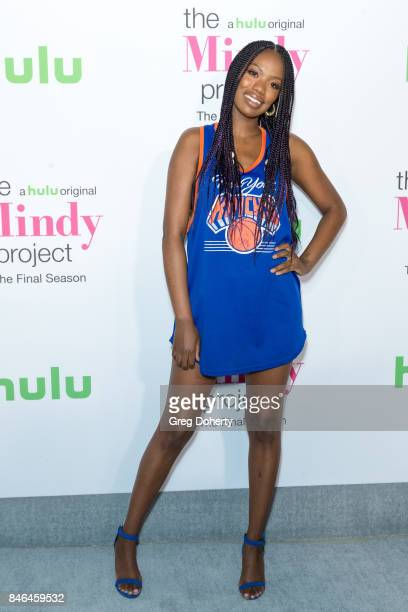 """Actress Xosha Roquemore arrive for Hulu's """"The Mindy Project"""" Final Season Premiere Party at The London West Hollywood on September 12, 2017 in West..."""