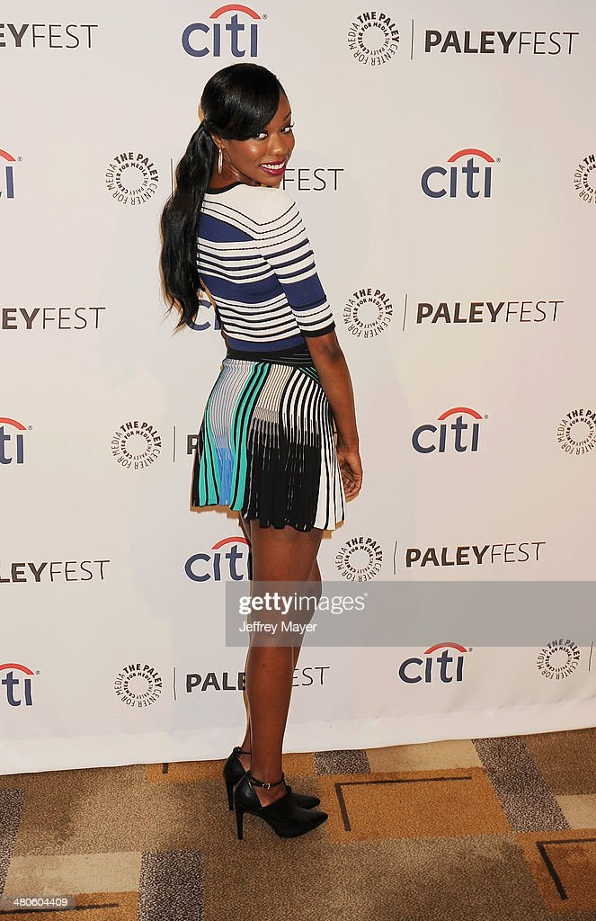 Actress Xosha Roquemore attends the 2014 PaleyFest - 'The Mindy Project' held at Dolby Theatre on March 21, 2014 in Hollywood, California.