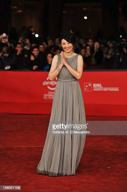 Actress Xu Fan attends the 'Back To 1942' Premiere during the 7th Rome Film Festival at the Auditorium Parco Della Musica on November 11 2012 in Rome...