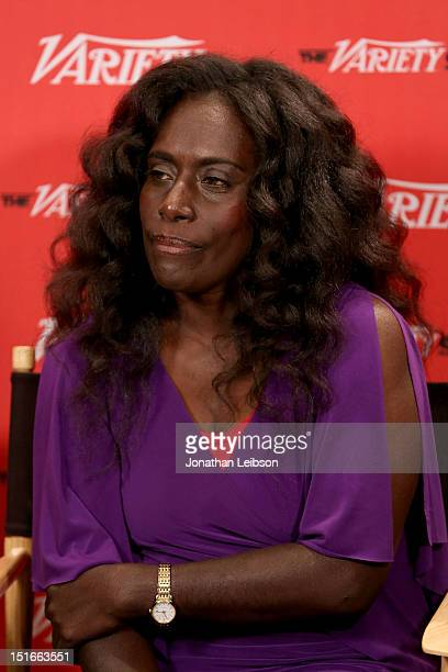 Actress Xzannjah Matsi attends Variety Studio presented by Moroccanoil at Holt Renfrew on Day 2 at Holt Renfrew Toronto during the 2012 Toronto...