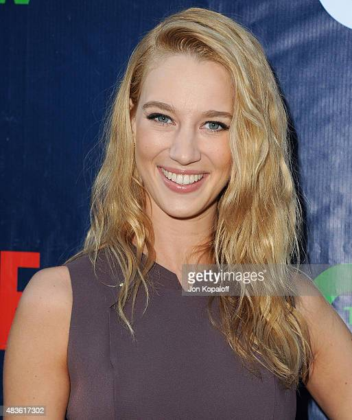 Actress Yael Grobglas arrives at CBS CW And Showtime 2015 Summer TCA Party at Pacific Design Center on August 10 2015 in West Hollywood California