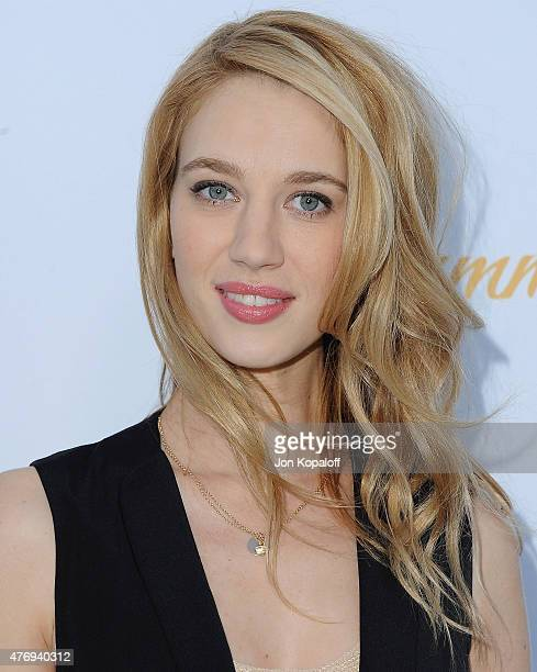 Actress Yael Grobglas arrives at CBS Television Studios 3rd Annual Summer Soiree Party at The London Hotel on May 18 2015 in West Hollywood California
