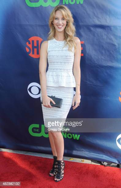 Actress Yael Grobglas arrives at the 2014 Television Critics Association Summer Press Tour CBS CW And Showtime Party at Pacific Design Center on July...