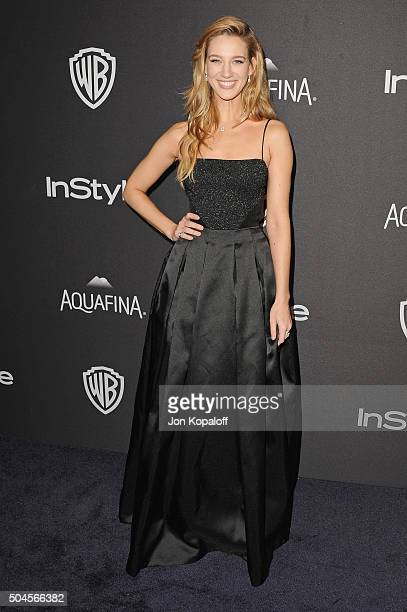 Actress Yael Grobglas arrives at the 2016 InStyle And Warner Bros 73rd Annual Golden Globe Awards PostParty at The Beverly Hilton Hotel on January 10...