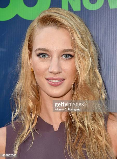 Actress Yael Grobglas attends CBS' 2015 Summer TCA party at the Pacific Design Center on August 10 2015 in West Hollywood California
