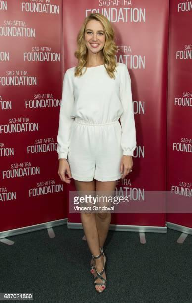 Actress Yael Grobglas attends SAGAFTRA Foundation's Conversations with Jane The Virgin at SAGAFTRA Foundation Screening Room on May 22 2017 in Los...