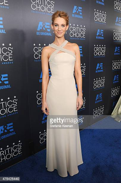 Actress Yael Grobglas attends the 5th Annual Critics' Choice Television Awards at The Beverly Hilton Hotel on May 31 2015 in Beverly Hills California
