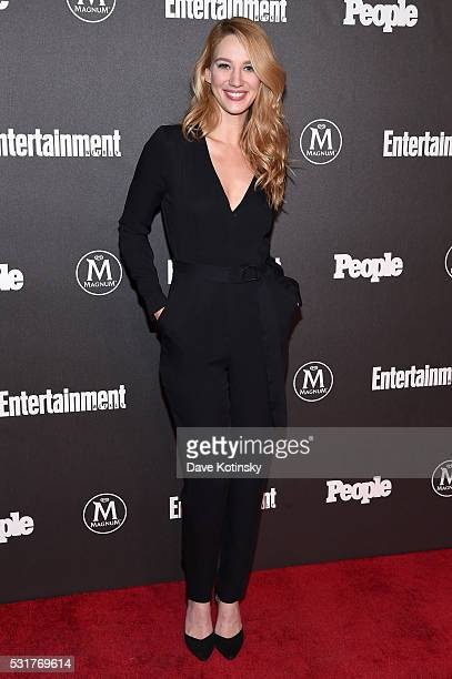Actress Yael Grobglas attends the Entertainment Weekly People Upfronts party 2016 at Cedar Lake on May 16 2016 in New York City