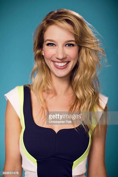 Actress Yael Grobglas poses for a portrait at CW network the Summer 2014 TCAs on July 18 2014 in Beverly Hills California
