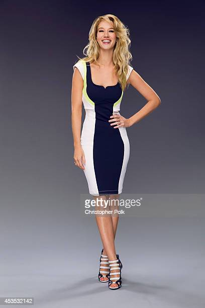Actress Yael Grobglas poses for a portrait at the CW network panel at the Summer 2014 TCAs on July 18 2014 in Beverly Hills California