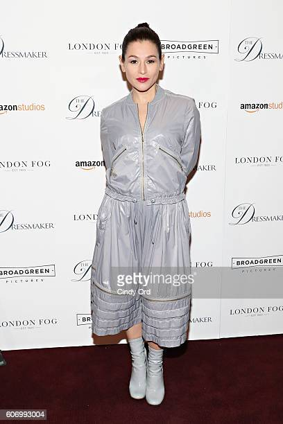 Actress Yael Stone attends as London Fog presents a New York special screening of 'The Dressmaker' on September 16 2016 in New York City