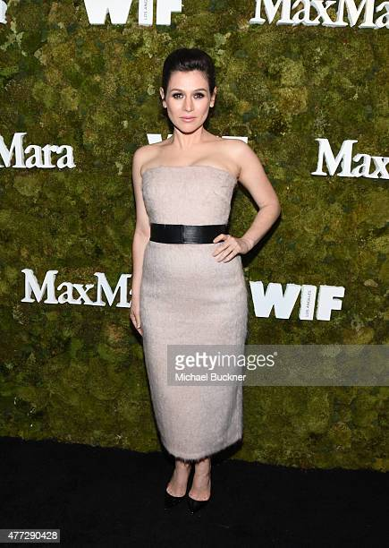 Actress Yael Stone attends The Max Mara 2015 Women In Film Face Of The Future event at Chateau Marmont on June 15 2015 in West Hollywood California