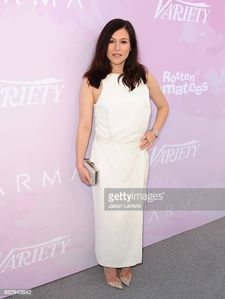 Actress Yael Stone attends Variety's celebratory brunch event for awards nominees benefitting Motion Picture Television Fund at Cecconi's on January...