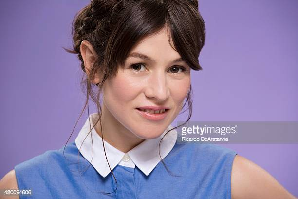Actress Yael Stone is photographed for Los Angeles Times on June 17 2015 in Los Angeles California PUBLISHED IMAGE CREDIT MUST READ Ricardo...