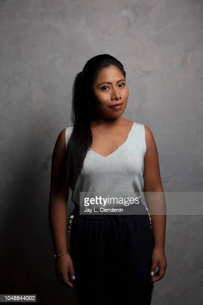 Actress Yalitza Aparicio from 'Roma' is photographed for Los Angeles Times on September 11 2018 in Toronto Ontario PUBLISHED IMAGE CREDIT MUST READ...