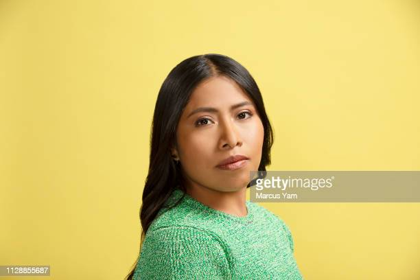 Actress Yalitza Aparicio is photographed for Los Angeles Times on February 1, 2019 in West Hollywood, California. PUBLISHED IMAGE. CREDIT MUST READ:...