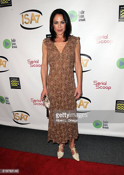 Actress Yancy Butler arrives at the 7th Annual Indie Series Awards held at El Portal Theatre on April 6 2016 in North Hollywood California