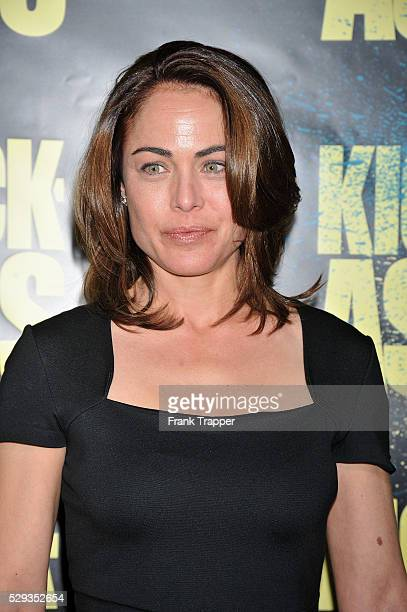 Actress Yancy Butler arrives at the premiere of KickAss held at the ArcLight Theater in Hollywood
