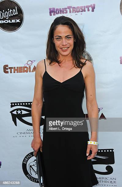 Actress Yancy Butler arrives for the Etheria Film Night 2015 held at American Cinematheque's Egyptian Theatre on June 13 2015 in Hollywood California