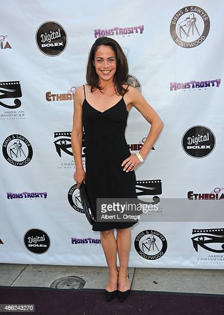Actress Yancy Butler arrives for the Etheria Film Night 2015 held at American Cinematheque's Egyptian Theatre on June 13, 2015 in Hollywood,...