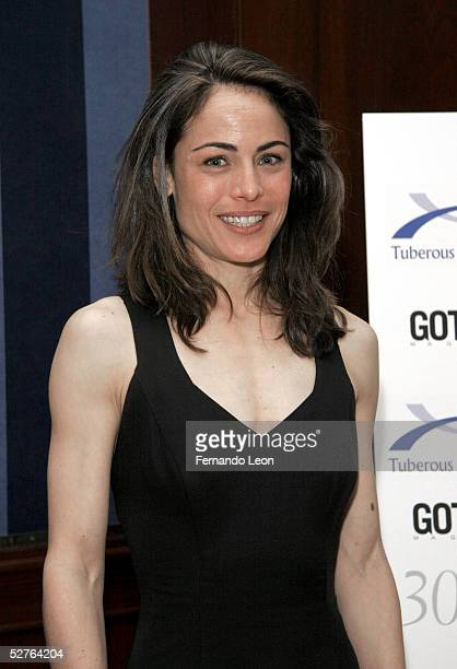 Actress Yancy Butler arrives to the TS Alliance 30th Anniversary Gala May 5 2005 in New York City