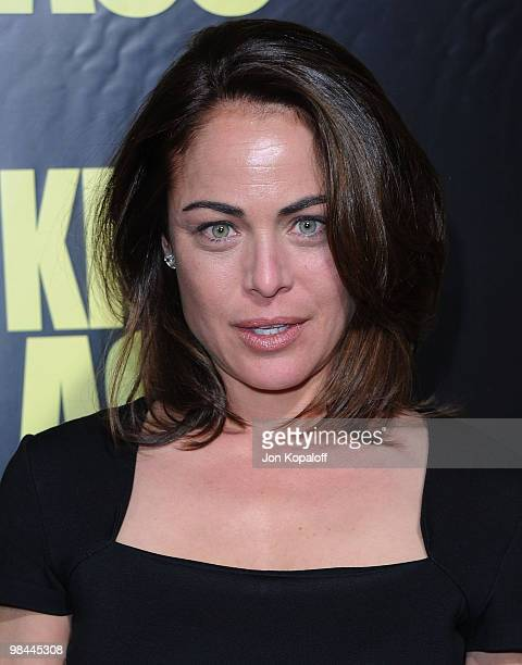 Actress Yancy Butler arrives to the Los Angeles Premiere KICKASS at ArcLight Cinemas Cinerama Dome on April 13 2010 in Hollywood California