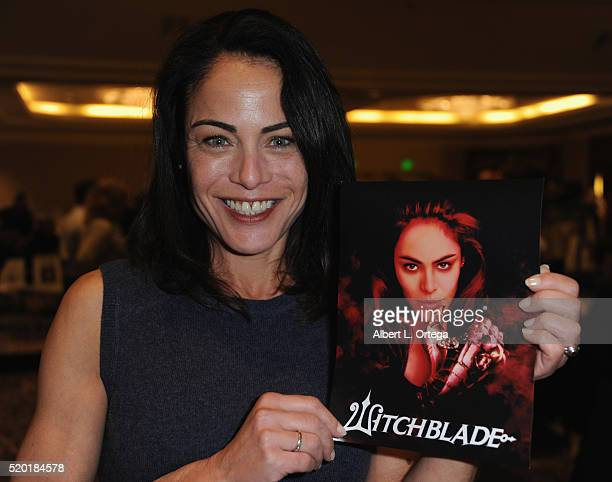 Actress Yancy Butler at the The Hollywood Show held at Westin LAX Hotel on April 9 2016 in Los Angeles California